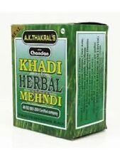 2 x KHADI HERBAL MEHNDI HENNA Hair Color  (NATURAL BLACK)
