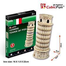 CubicFun 3D Paper Puzzle Model S3008H Leaning Tower of Pisa Building Toy 8pcs