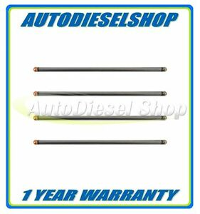 ENGINETECH PUSH RODS (4) - FITS 03-10 FORD 6.0 & 6.4 POWERSTROKE DIESEL ENGINES