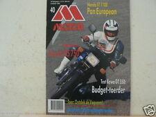 MO8940-HONDA ST1100 PAN,KAWASAKI GT550,SUZUKI GS750,ISDT GERMANY,YAMAHA 1990 MOD