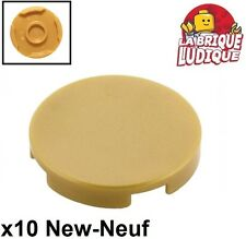 Modified 1x2 with Handle on Side 48336  NEUF LEGO x 6 Pearl Gold Plate
