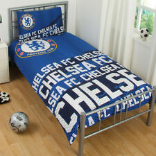 Official Chelsea F.C. Football Club Impact Duvet Single Cover Bedding Set