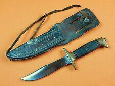 US WW2 Custom Hand Made FRANK JOSEPH RICHTIG Clarkson Nebraska Fighting Knife