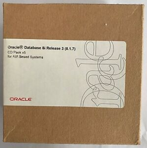 Oracle Database 8i Release 3 (8.1.7) CD Pack v5 for AIX-Based Systems