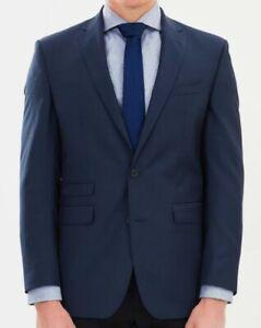 Ben Sherman NOTCH LAPEL KINGS FIT Suit Jacket Size 36S,Wool-was RRP$399