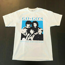 The Go-Go's fan club go gos belina carlisle 1982 T SHIRT USA SIZE