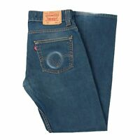 Levi's 506 Standard Straight Fit Blau Herren Jeans in Größe 32/32