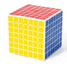 Sheng Shou Magic Cube 7x7x7 Speed Cube Rubik Magic Puzzle Game Toy ABS White