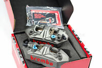 BREMBO M4 108mm Forged Radial Monoblock Calipers with Brake Pads