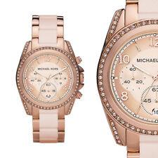 Michael Kors Damen Uhr Chronograph MK5943 Blair Rose Farbe Armbanduhr