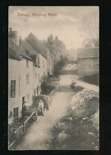 Gloucestershire Glos TETBURY Chipping Steps & locals pre1919 PPC