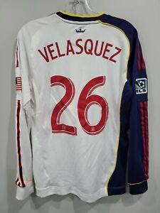 Adidas Formotion MLS Real Salt Lake FC Xango Sebastian Velasquez 26 Jersey Men M
