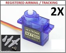 2X HXT900 9g 1.6kg  0.12sec Micro Servo for rc plane heli aircrafts