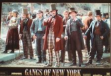 GANGS OF NEW YORK - Lobby Cards Set - Leonardo DiCaprio, Cameron Diaz