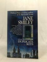 Duplicate Keys by Jane Smiley (1984, Paperback)