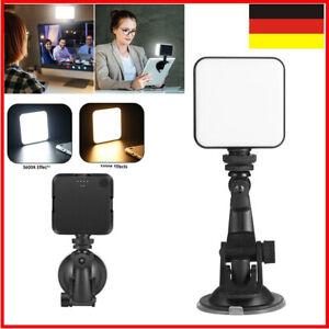 64 LED-Fülllicht Dimmbare Lampe Kamera Videokonferenz-Beleuchtungsset USB für PC