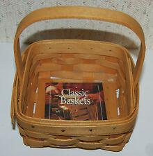 Longaberger 2002 Tarragon Booking Basket