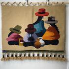 Jose Cotacachi 100% Wool Weaving Tapestry Wall Hanging Made in Ecuador OOAK