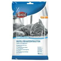 Trixie Simple'n'Clean Bags for Cat Litter Trays Box Disposable X-Large 10 Liners