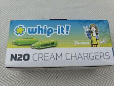 New Whip-it N20 Cream Chargers 24 pack USA free shipping