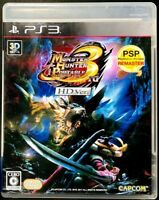 Monster Hunter Portable 3rd - PS3 Capcom Action Role Playing Game from Japan