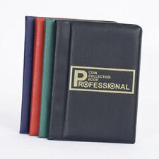 120 Sheets Wallet Coin Album Portable Storage Book Case Holder File Collection