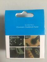 Clip-on Chromatic Guitar Bass Ukulele Headstock Tuner w/ LCD Display