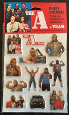 A-Team Stickers - 12 sticker pack - New Old Stock - Mint