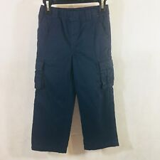 Greendog Boys Pants Blue Size 4 4T Toddler Fall Winter Elastic Waist Pockets