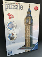Ravensburger Big Ben 3D Puzzle 216 Pieces Make Big Ben in 3D New Sealed