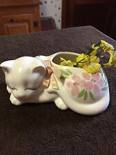 Vtg. Cat Planter Summit Collection.