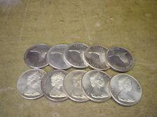 Anlegerposten , Kanada Gans 1967, 10 Stück x 1 Dollar , 233,3g Silber Investment