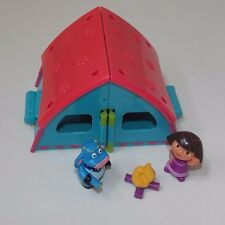 Fisher Price Dora the Explorer Fold & Surprise Camping Adventure Tent Figures