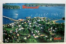 Maine ME Wiscasset Postcard Old Vintage Card View Standard Souvenir Postal Post