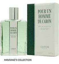 POUR UN HOMME DE CARON EDT 4.2 OZ / 125 ML FOR MEN (NIB) SEALED