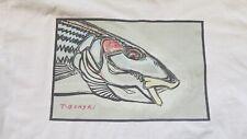 Vintage Tim Borski Bonefish S/S Shirt Size L