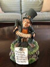 MUSIC BOX IRISH LUCK LEPRECHAUN ST PATRICKS DAY