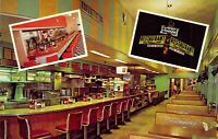 c1960 SNACK HOUSE Restaurant COCA COLA 7up Interior Fort Myers FL postcard A13