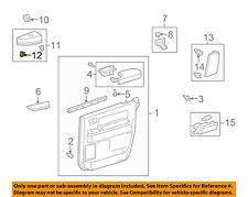 TOYOTA OEM Interior-Rear Door-Switch Bezel Clip 9046710203