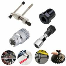 Mountain Bike Bicycle Crank Chain Axis Extractor Removal Repair Tool Kit