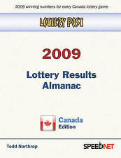 NEW Lottery Post 2009 Lottery Results Almanac, Canada Edition by Todd Northrop