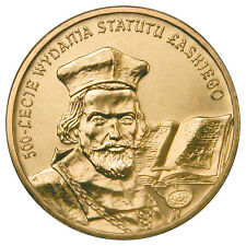 2 zl. 2006 500 anniversary issue of the statute Laski