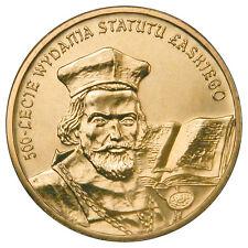 2 zl. 2006 500 anniversary issue of the statute Laski