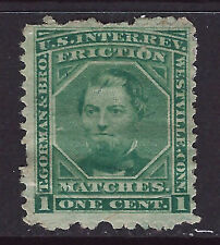 Bigjake: RO98b, 1 cent T. Gorman & Bro., Match & Medicine