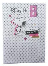 Peanuts Snoopy Carte d'anniversaire pour l'âge de huit par Hallmark – 11441442