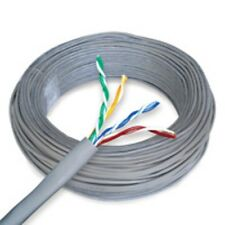CAT 6a BULK ETHERNET CABLE 500 FT SOLID UNSHIELDED GRAY
