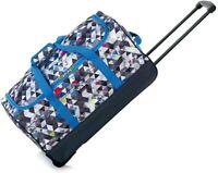 Gladiator Quality Duffle Bag Wheels 60cm Handle Travel Weekend Bag Staycation
