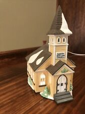 Dept 56 New England Village Sleepy Hollow Church 1990 Mfg #5955-2