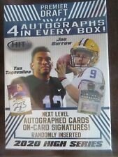 2020 Sage Hit High Series Nfl Draft Picks Blaster Box 4 Autographs Burrows Tua ?