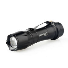 SkyWolfeye 8000 LM CREE Q5 LED Flashlight Zoomble Mini Torch Light Lamp AA 14500